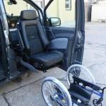 Beifahrersitz wird automatisch gesenkt