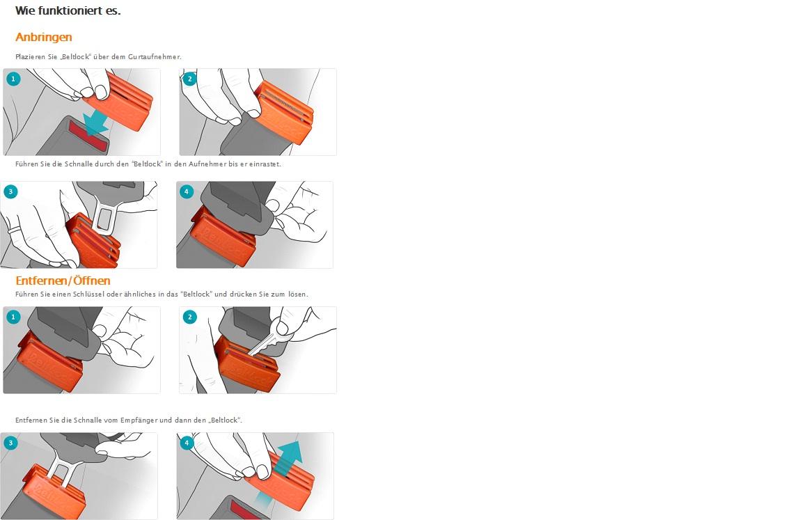 Beltlock - so funktioniert es